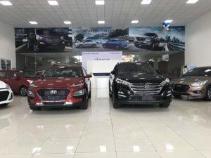 Hyundai Kona và Hyundai Tucson