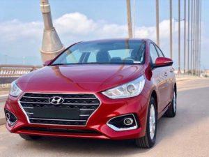 Hyundai Accent đỏ 2018 số tự động