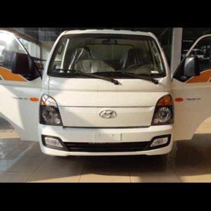 Hyundai Porter H150 Thùng mui bạt màu trắng