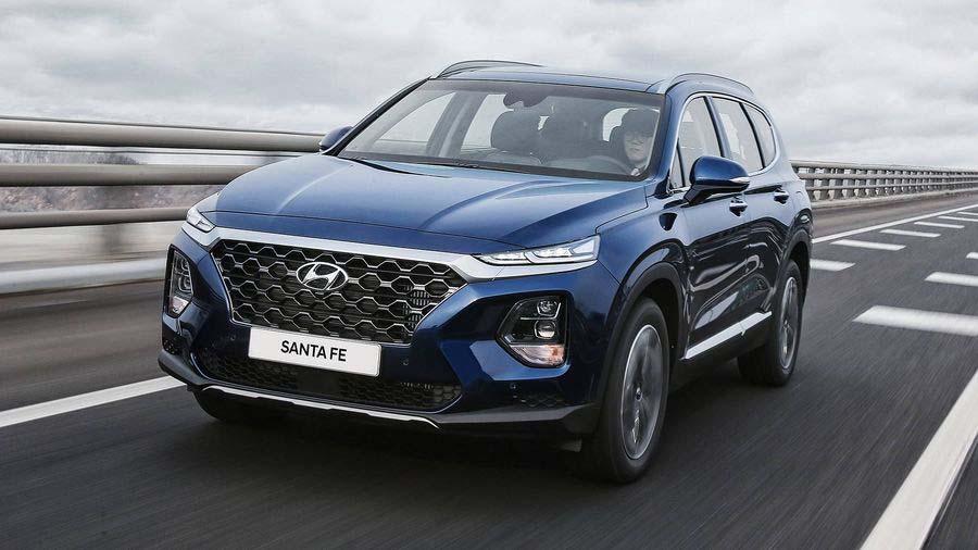 Hyundai Santafe 2019 ra mắt tại Việt Nam