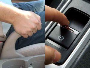 Phanh tay trên ô tô